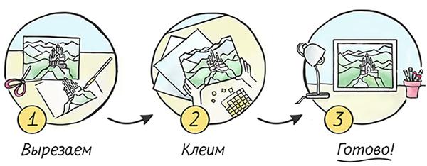 Как сделать папертоль. Простейшая схема из трех шагов.