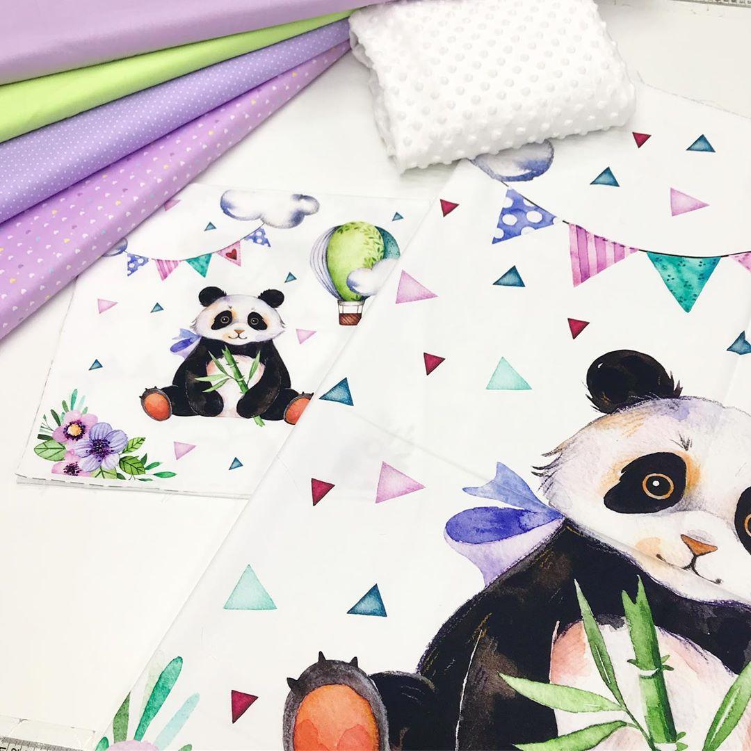 Тканевые купоня для детского постельного белья