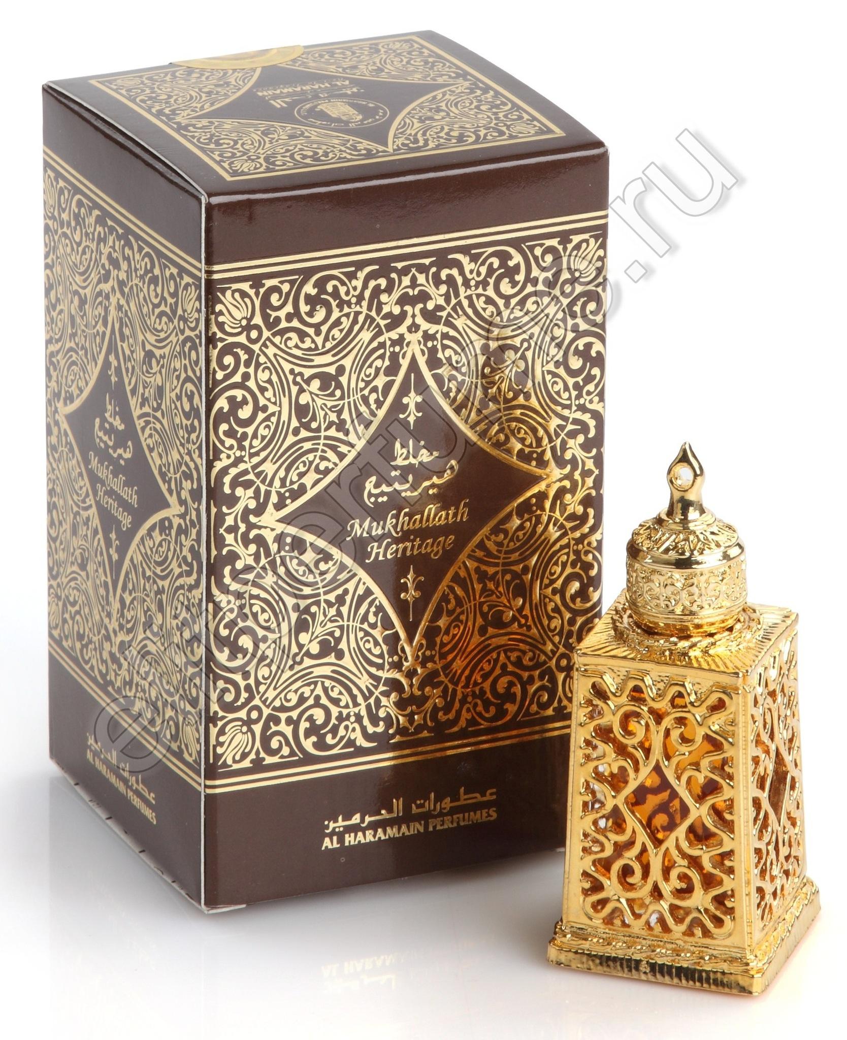 Арабские духи Mukhallath Heritage Мухаллат Херитейдж