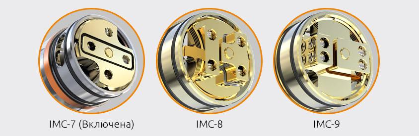 Сменные Палубы iJOY LIMITLESS RDTA Classic Edition с Золотым Покрытием
