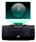 Цветной ЖК-дисплей с изменяемым углом наклона GamePanel™.