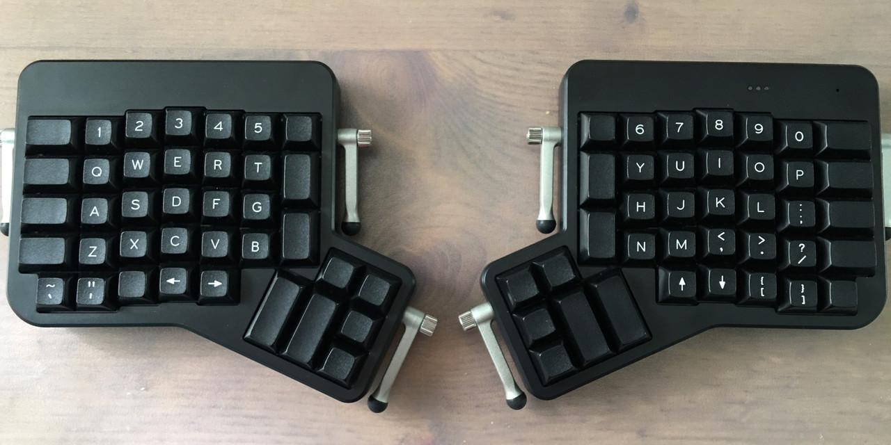 Раздельные эргономичные клавиатуры