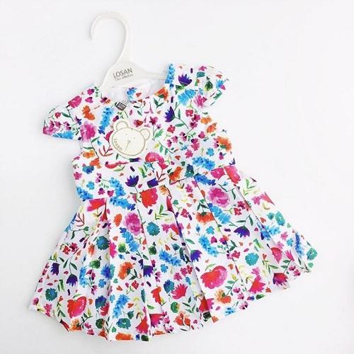 Детское платье Losan для девочек Garden Chic купить в интернет-магазине Мама Любит!