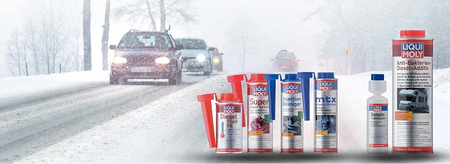 Бензиновый присадки Ликви Моли на зиму