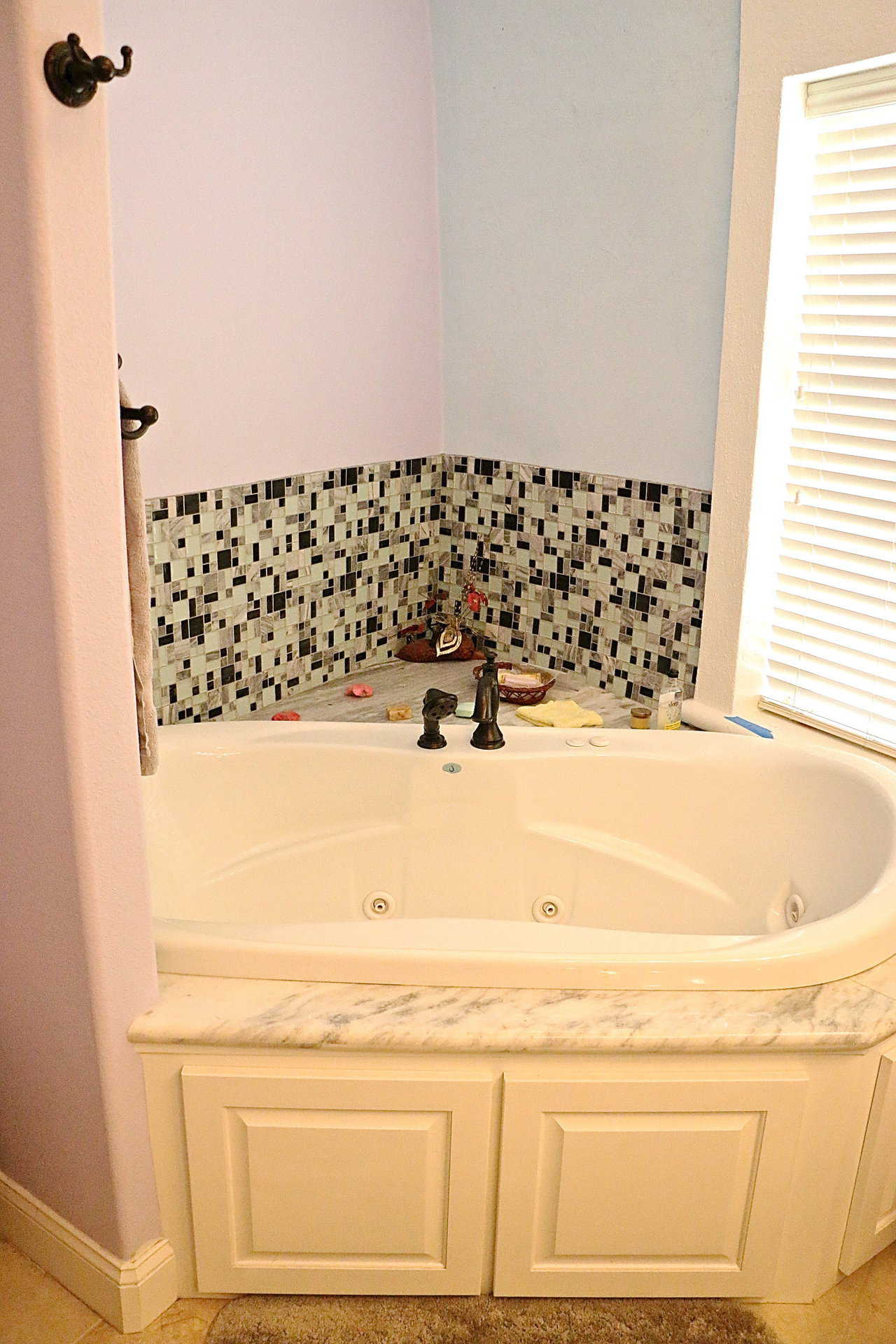 Ванная комната в купольном доме.