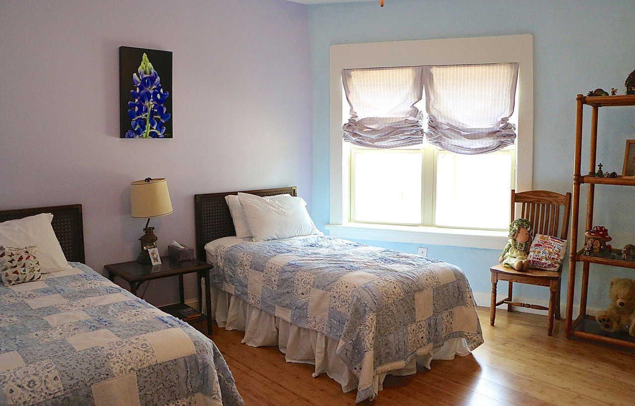 Спальня в купольном доме