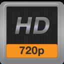 символ обозначения 720p