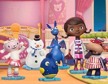 Игровой набор - фигурки из серии Доктор Плюшева Doc McStuffins