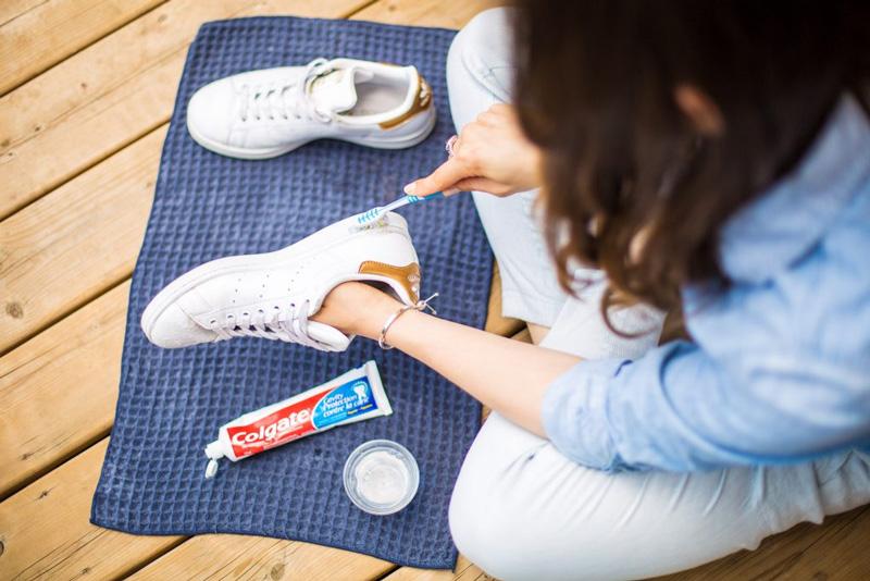 Способы почистить подошву кроссовок - 3
