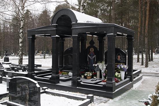 Элитный памятник на могилу 2