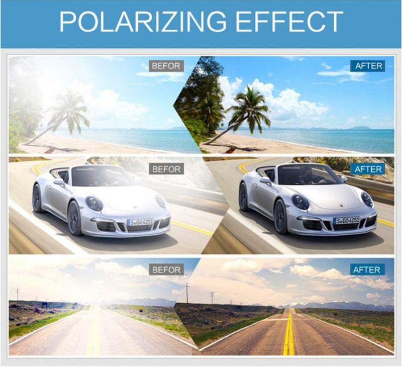 ефект лінз з поляризацією