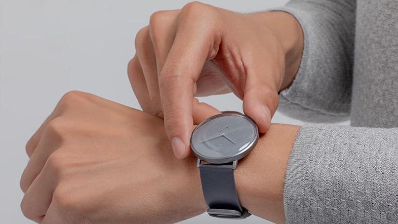 Часы наручные Mijia Quartz Watch SYB01 (серый)