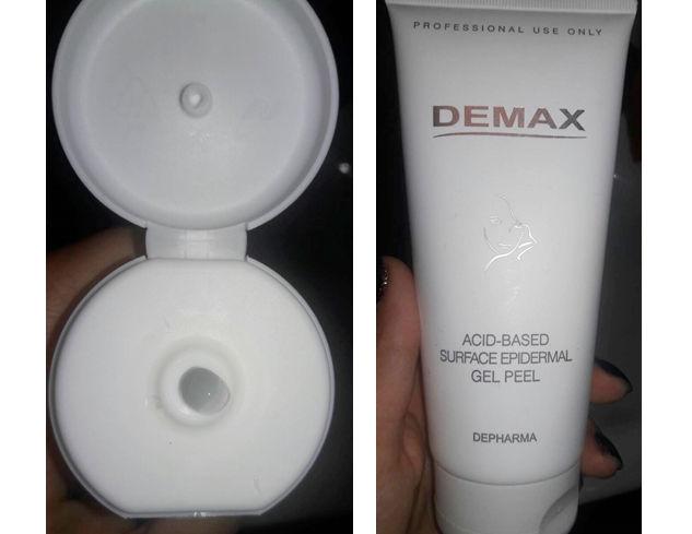 Фотообзор на кислотный пилинг Demax