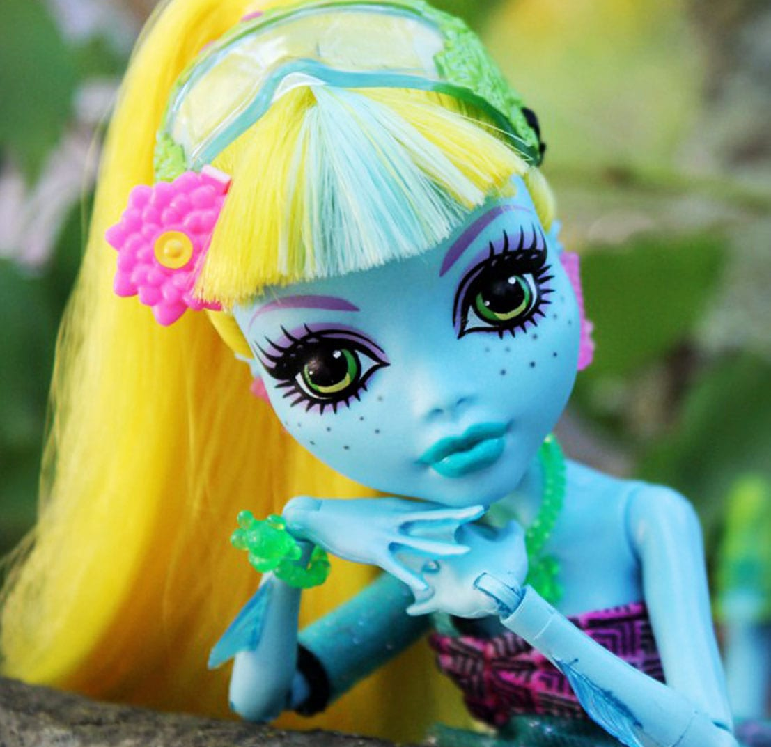 кукла Лагуна Блю, Monster High