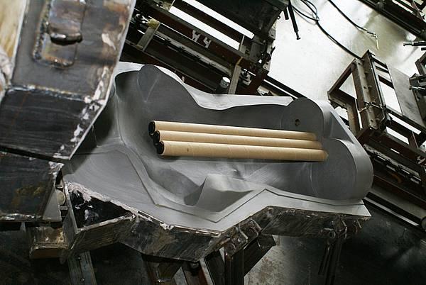 Литьевая форма для манекена. Фото 10.
