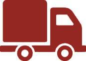 Доставка в регионы осуществляется транспортными компаниями, доставка до транспортной компании осуществляется бесплатно