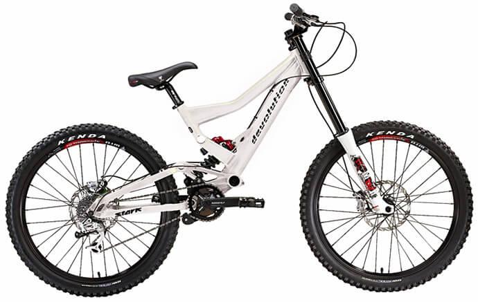 Велосипед для фрирайда с алюминиевой рамой