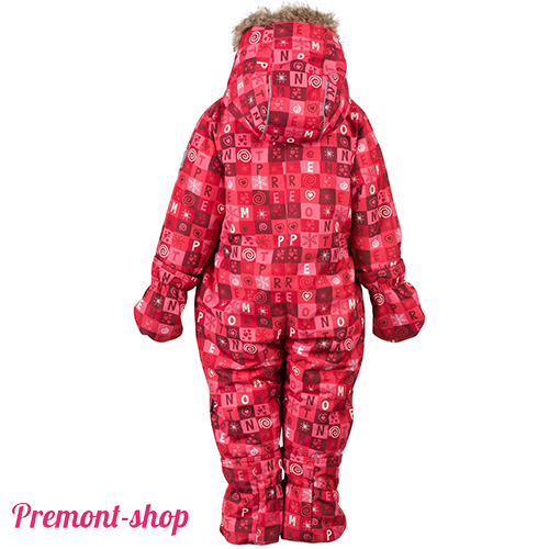 Комбинезон Premont Красные льдинки, вид сзади