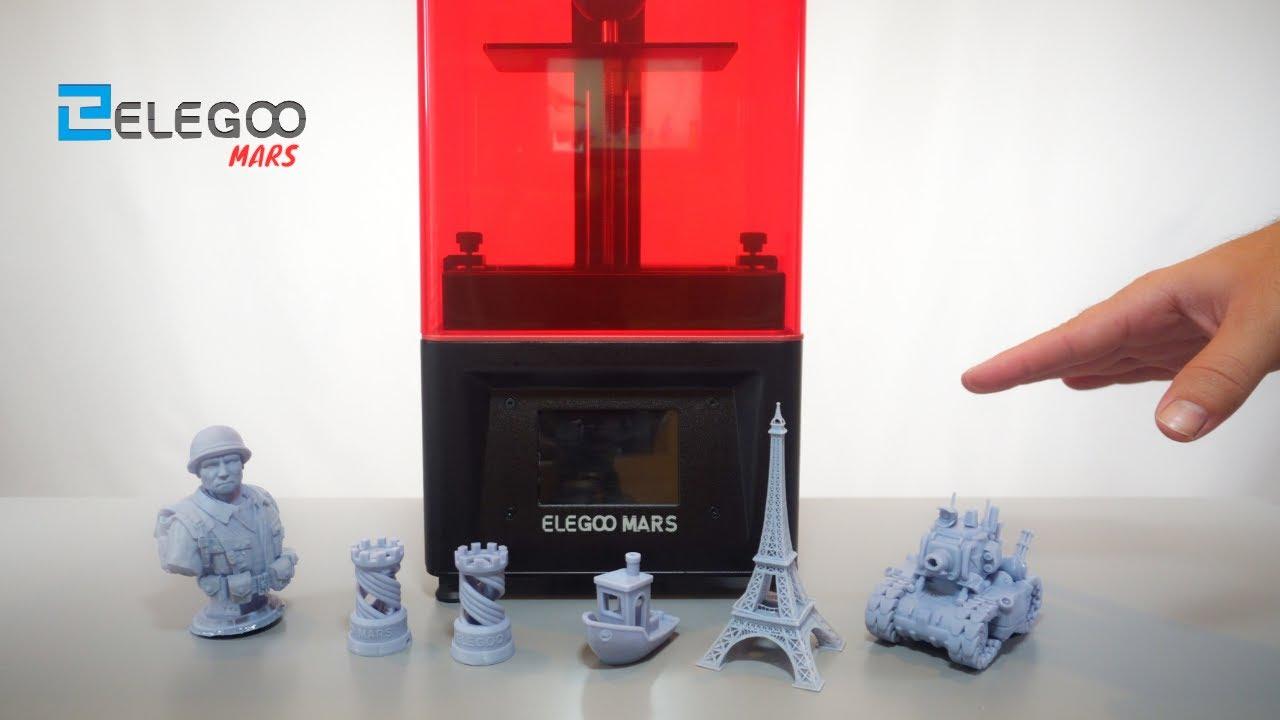 Elegoo Mars купить 3D-принтер в Москве