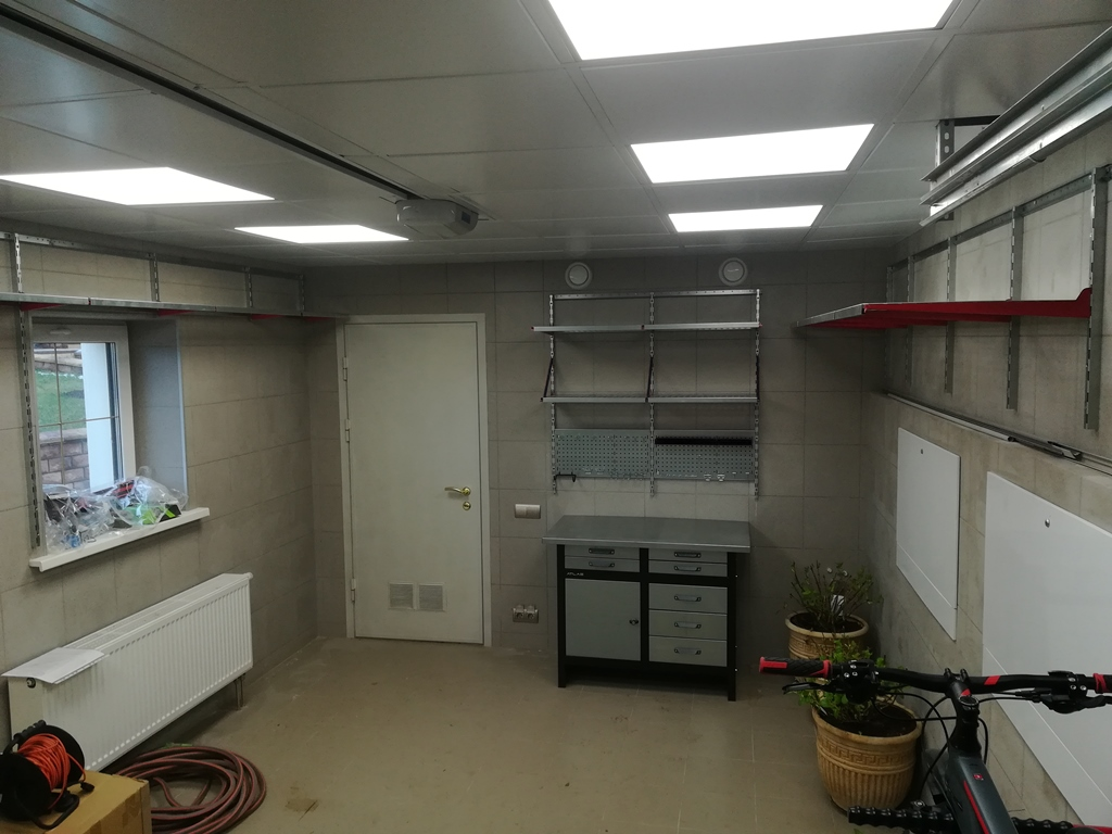 дизайн проект гаража