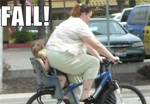 Ребенок в велокресле плохо себя чувствует