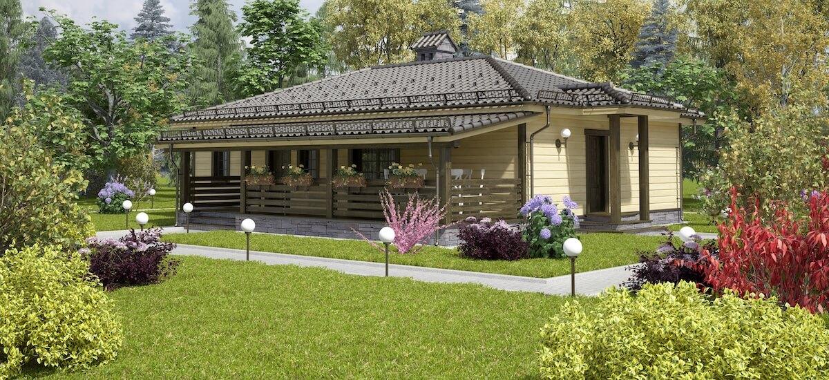 Проекты домов «Бунгало»