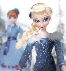Набор кукол поющие Эльза и Анна, Холодное Сердце