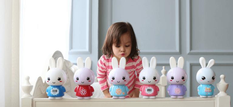 Зайки Alilo - медиаплеер, игрушка, ночник в интернет-магазине Мама Любит!