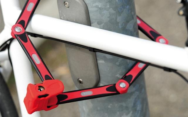 пластинчастий велозамок