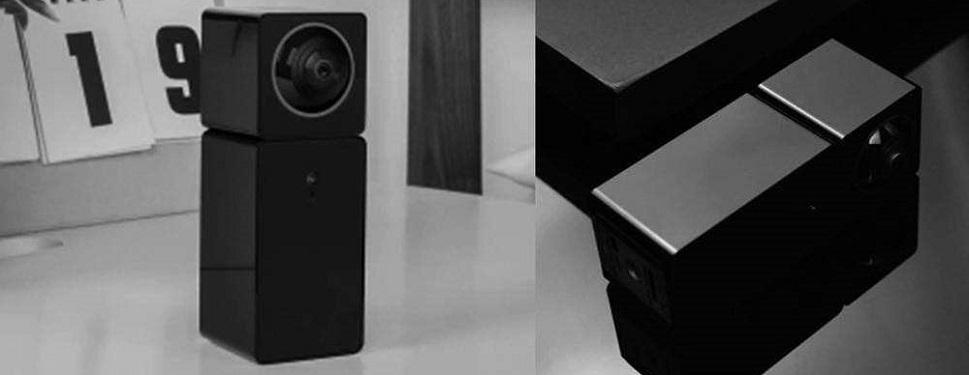 стильный и компактный дизайн камеры