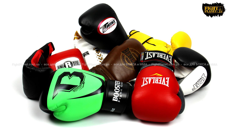 Боксерские перчатки в магазине Fight Planet