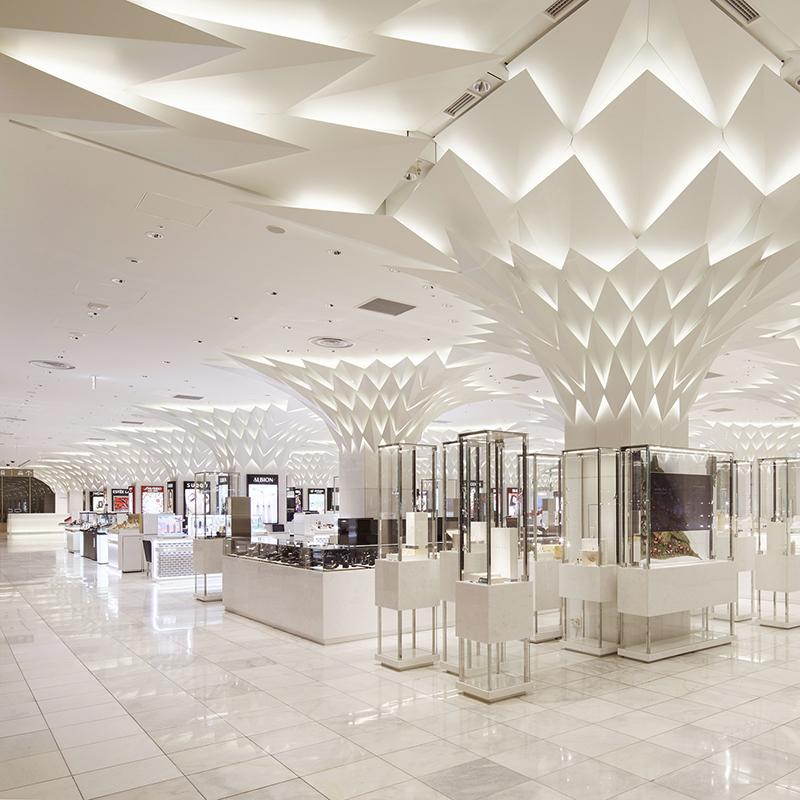 Световой проект Nihombashi Mitsukoshi от Lighting Planners Associates