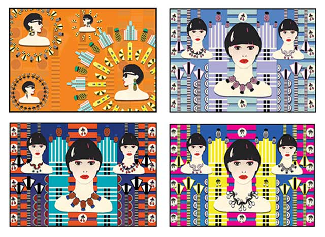 коллекция Tutti Frutt от Jennifer Loiselle