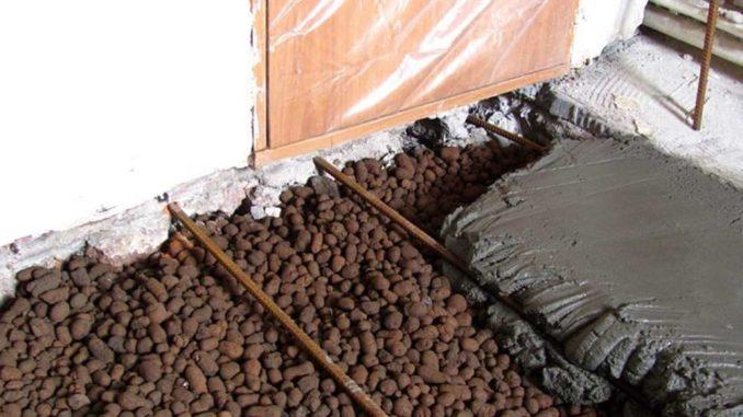 Использование керамзита под стяжкой