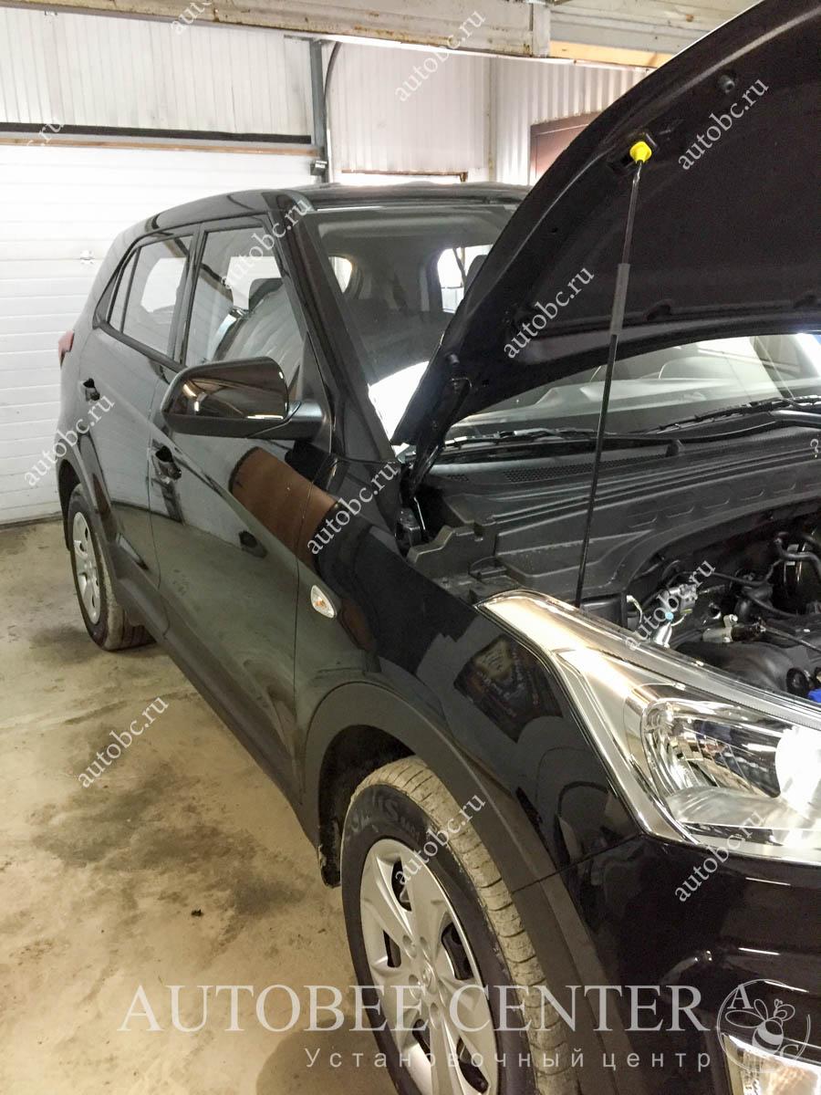 Hyundai Creta (установка автосигнализации StarLine)