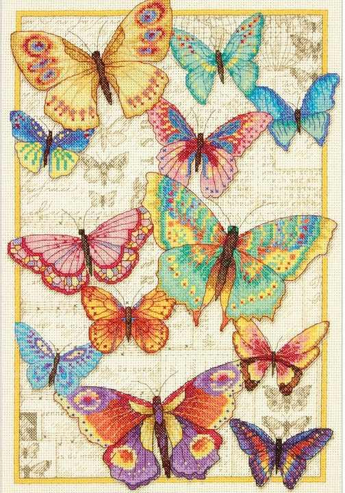 Дименшенс новинка 2016, бабочки