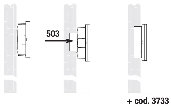 Световой указатель направления эвакуации Aestetica LED – монтаж на стену / в стену