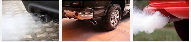 неисправностьо выхлопных газов в авто