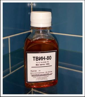 Твин-80 важный компонент в производстве ванных бомб