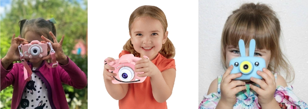 Детский фотоаппарат счастливый ребенок