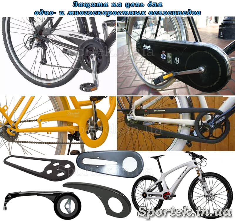 захист велосипедного ланцюга