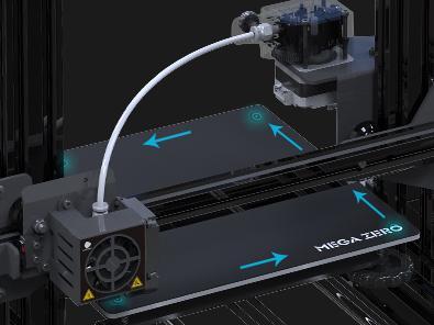 Принтер определяет углы печатной платформы во время калибровки – для большей точности и экономии времени.