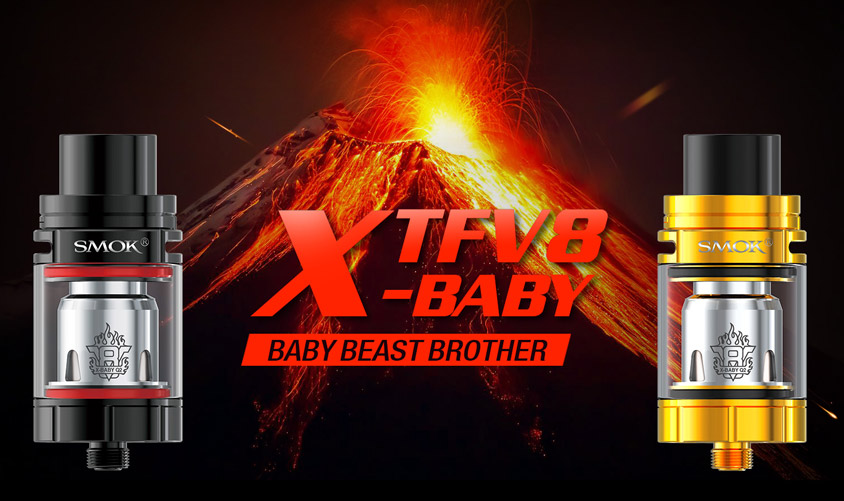 Атомайзер SMOK TFV8 X-Baby