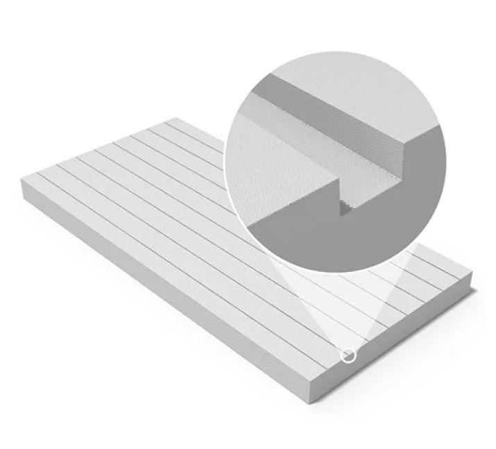 Пенополистирол Технониколь 100 мм структура