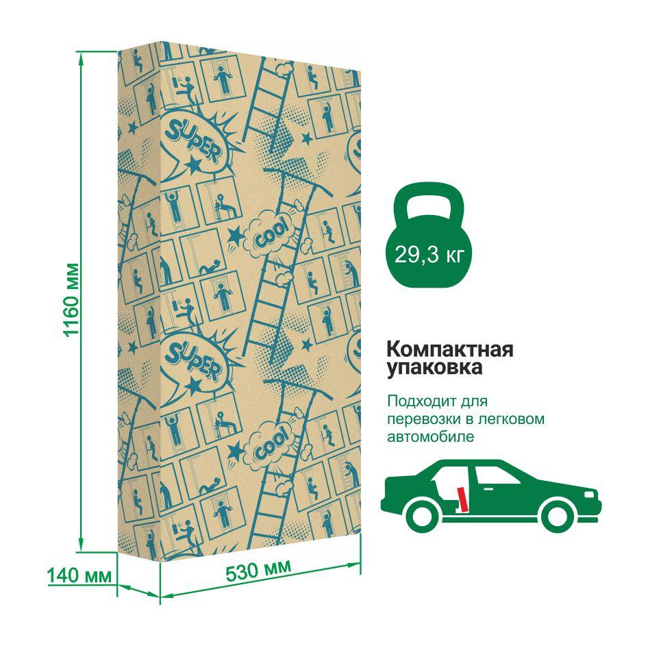 Упаковка шведской стенки Romana Sa
