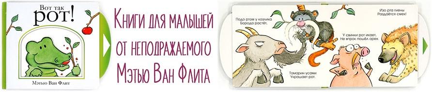 Детские книги от Мэтью Ван Флита