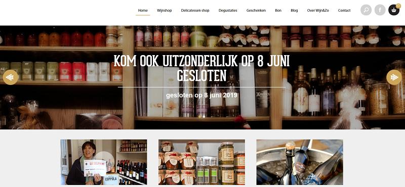Пример удобного и оригинального дизайна интернет-магазина