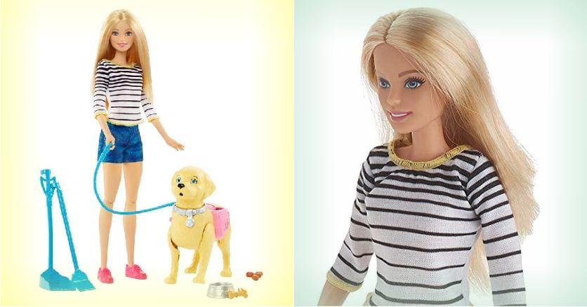 Игровой набор Barbie - Прогулка с питомцем
