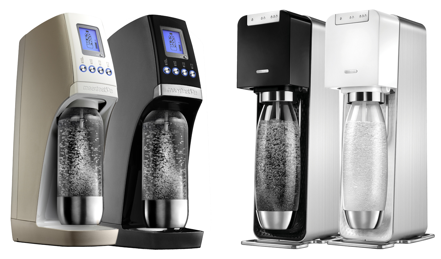 Сифоны Sodastream Revolution и Power