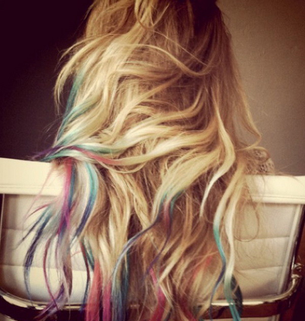 Эффект «выгоревших волос» 2